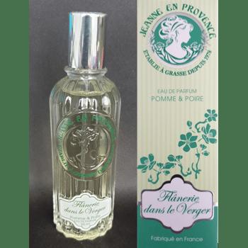 Jeanne en Provence - Flanerie dans le Verger - Pomme & Poire - Eau de Parfum - 60ml