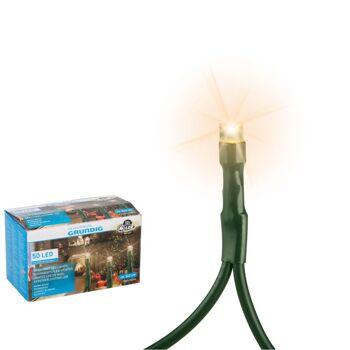 28-064857, Grundig LED Lichterkette 50er, Länge 542 cm
