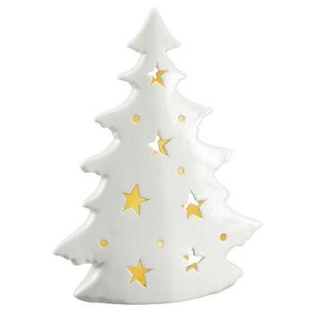 28-633162, LED Tannenbaum 18 cm mit LED Licht, Weihnachtsbaum, Deko-Baum