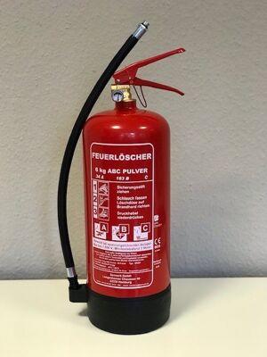 6kg ABC-Pulver-Feuerlöscher