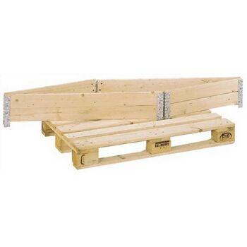 Aufsetzrahmen Holz Nutz-H.200mm f.B.800x1200x200mm gehobelt 20mm