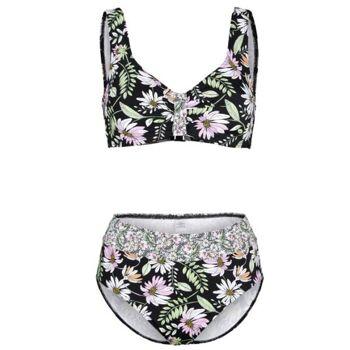 Bikini im floralen Druck Cup C