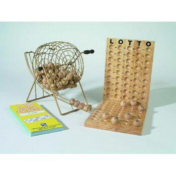 Bingo mit Metallkorb 600 Tickets (1-90)