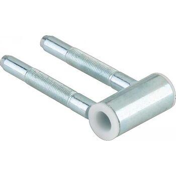 DORMAKABA Rahmenteil Stahl verzinkt für 3-teilig Holzzargen Standard