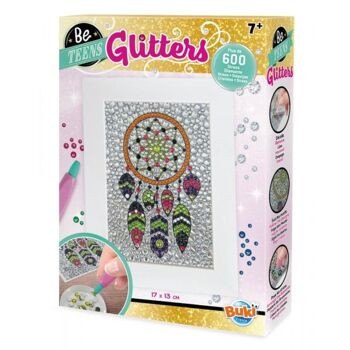 Glitters Traumfänger Glitzerbild Kreativset