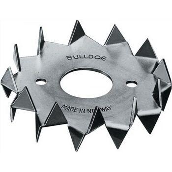 Holzverbinder DIN1052 Bulldog Typ C1-62G-B Außen-D.62mm Innen-D.21mm, 100 Stück