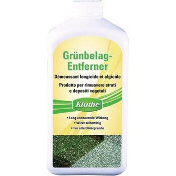 KLUTHE Grünbelagentferner chlor- und säurefrei 1 l Flasche, 6 Stück