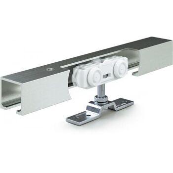 Schiebesystem Rollan 40 NT 40kg 2800mm Holzflügel 50-142cm Wand/Deckenmontage