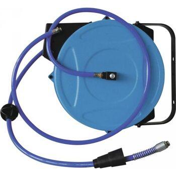 Schlauchaufroller für Druckluft Schlauchlänge 15m Ausgangsanschluss G 3/8