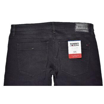Tommy Jeans Slim Scanton Keblst Kelvin Black Stretch Herren Jeans Hosen 1-286