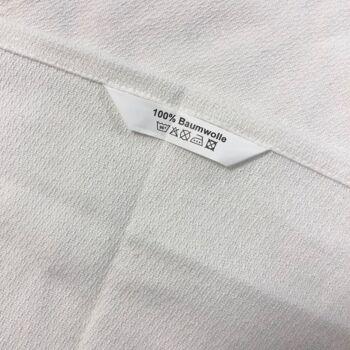 Zwirnfrottee-Krepp Handtücher 50 x 100 cm weiß 10er Pack