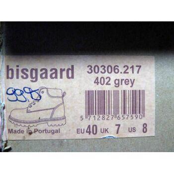 Bisgaard Leder Boots grau 30306.217 Gr.40