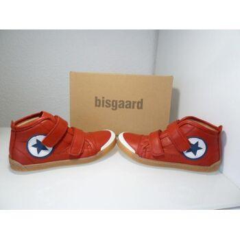 Bisgaard Leder Sneaker rot 40705.118 Gr.36