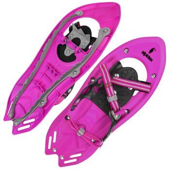Schneeschuhe für Kinder * Schuhgröße 26-38 * bis 55 kg * wahlweise mit Stöcken * perfekt für Amazon & Ebay