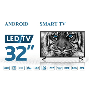 ESTAR SMART TV32D5T2 32 zoll Android 7.1  Smart TV . Wifi. PVR. USB Program recording function Triple -Tuner DVB-T2/T/C/S-S2. NEU & OVP Arti