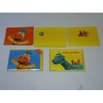 Einladungskarten Set - Der kleine Drache Kokosnuss, 12-teilig