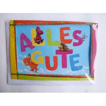 Glückwunschkarte Der kleine Drache Kokosnuss, Alles Gute, Geschenkkarten, Glückwunschkarten