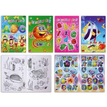 27-41333, Malbuch mit Stickern