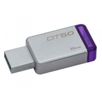 Kingston DataTraveler 50 - USB-Flash-Laufwerk - 8 GB DT50/8GB