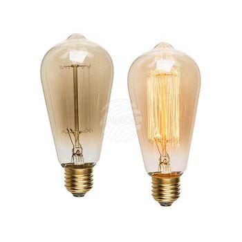 Glühlampe, Vintage I, E27 - 25W, ca. 8 x 12 cm