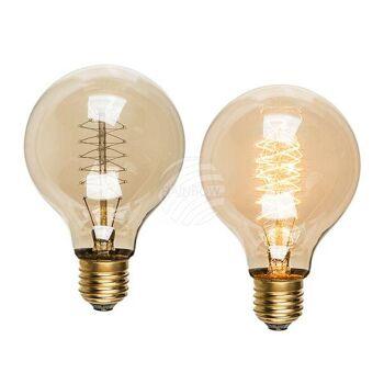 Glühlampe, Vintage IV, E27 - 25W, ca. 8 x 12 cm