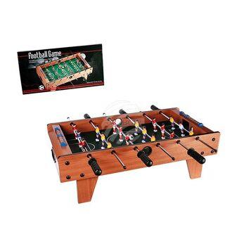 Holz-Tischfußballspiel mit Füßen, Kicker