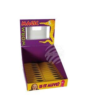 Karton-Displaybox für Magischer Wurm