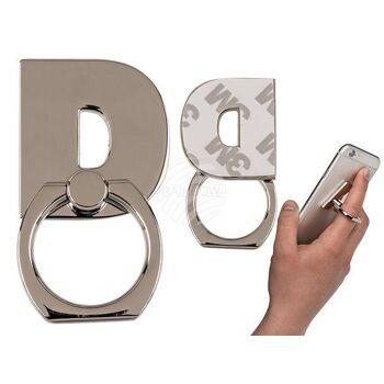 Metall-Fingerhalterung fürs Handy, Buchstabe D