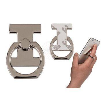 Metall-Fingerhalterung fürs Handy, Buchstabe I