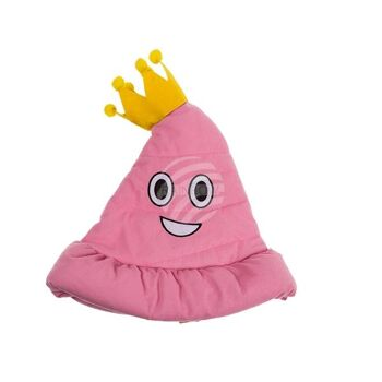 Plüsch-Hut, Pink Poo, ca. 38 cm