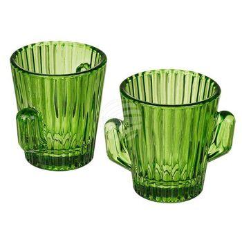Shooter-Gläser, Kaktus, für ca. 60 ml, H: ca. 7 cm