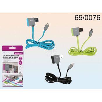 USB & Micro-USB-Ladekabel