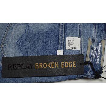 Replay Anbass M914 Herren Jeans Hose W31L34 Slim Fit Jeans Hosen 5-1336