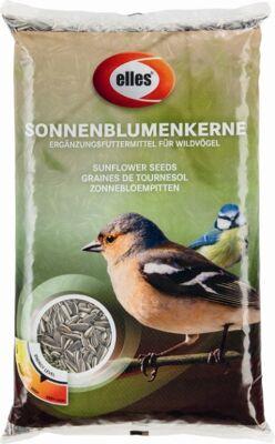 12-96109526, Elles Sonnenblumenkerne 1Kg, Vogelfutter, Ergänzungsfuttermittel