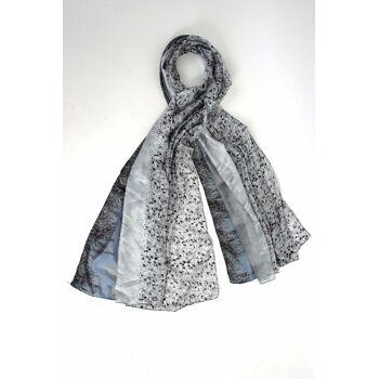 Moderne trendige Schals und Tücher aus leichte Stoffe