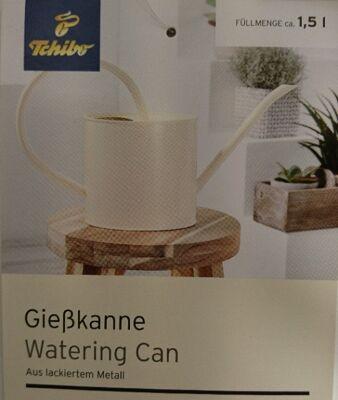 12-336682, TCHIBO Metall Gießkanne 1,5  Liter, Retro-Design- SONDERPOSTEN