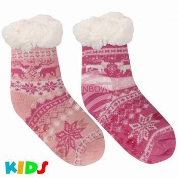 Kinder Weihnachtssocken Hüttensocken