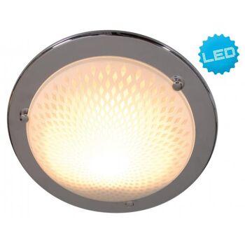 LED- Glasdeckenleuchte