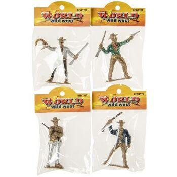 21-2520, Spielfiguren Cowboy Wild West