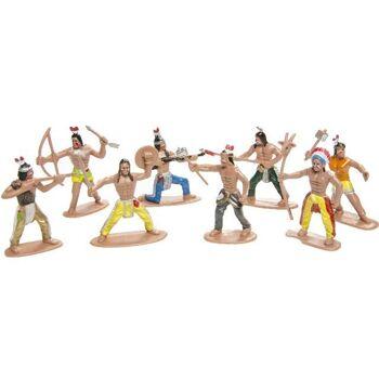 21-2521, Spielfiguren Indianer Wild West