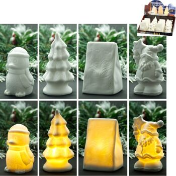 28-798578, Weihnachtsfiguren mit LED Licht, Weihnachtsdekoration