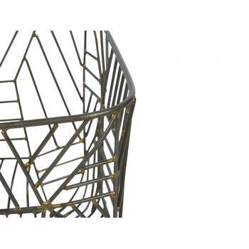 Drahtkorb Ceylin 25x25x20 Eisen klein