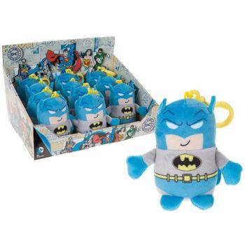 35-7021, DC Comics Batman mit Bagclip, z.B. zum Anhängen an den Schulranzen