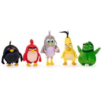35-7072, Angry Birds Movie-Mix Plüsch Sortiment, 22-27 cm
