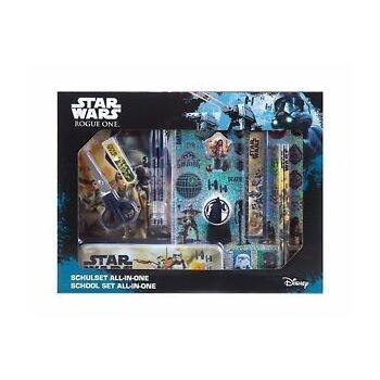 35-8277, Disney Star Wars - Schulset, 14-teilig, Schreibset, Malset+++++++