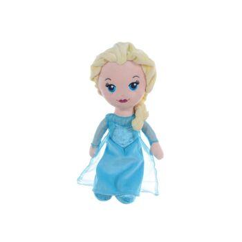 35-8417, Disney Plüsch Figur Elsa 30 cm, aus Disney Eiskönigin (Frozen).