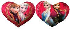 35-8487, Disney Frozen Plüsch Herz-Kissen 50 cm, Herzkissen in Herzform aus Disney Eiskönigin