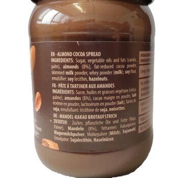 Erikol cocoa Spread Almond, 400g
