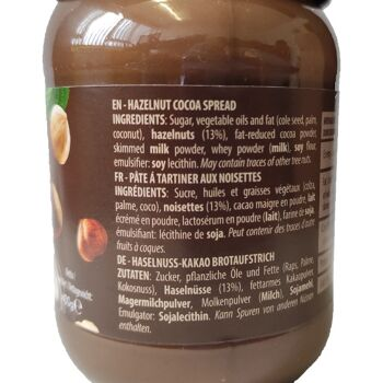 Erikol cocoa Spread Hazelnut, 400g