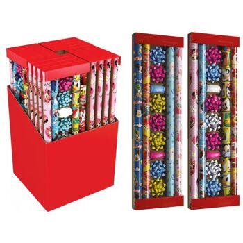 Geschenkpapier Set Disney Mix 13-teilig, im 16er Display, 4-fach sortiert